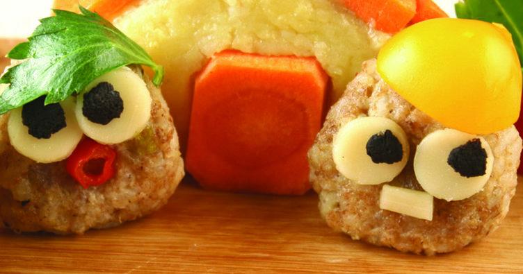 Sevimli sebze köfteleri