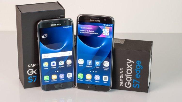 Galaxy S7 Edge için yeni güncelleme!