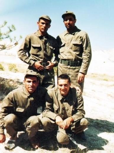 Ünlülerin askerlik fotoğrafları