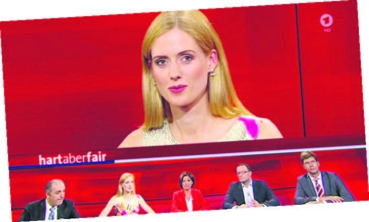 Wilma Elles'e Almanya televizyonunda çirkin saldırı