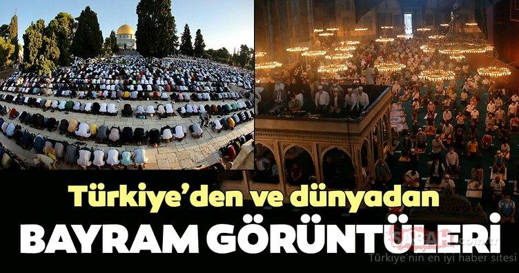Türkiye'den ve dünyadan Kurban Bayramı görüntüleri...