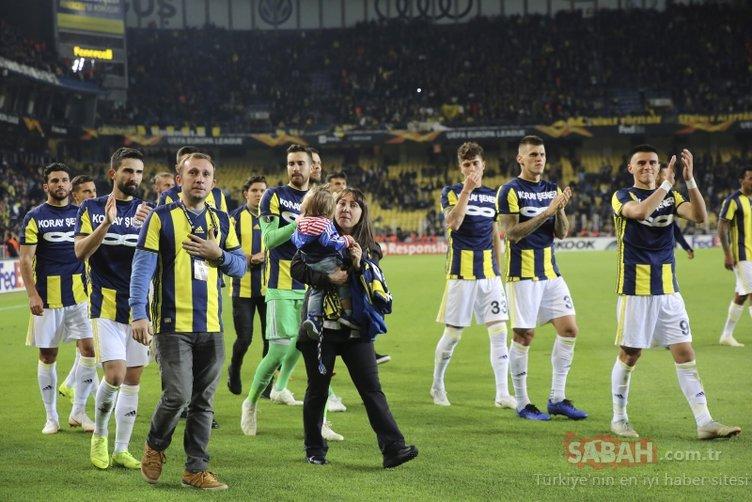 Fenerbahçe - Anderlecht maçından kareler