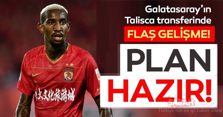 Son dakika transfer haberleri: Galatasaray Talisca için kolları sıvadı! Galatasaray...