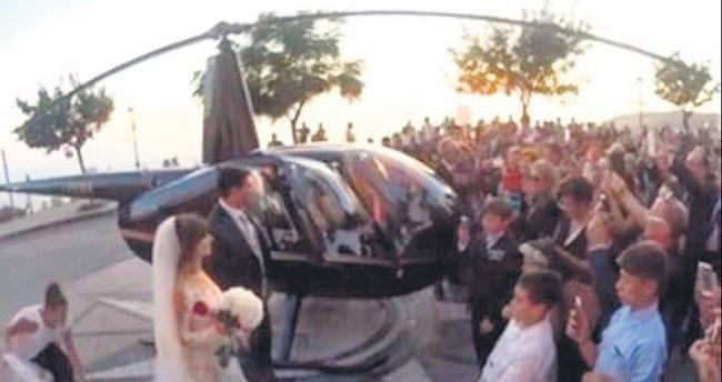 Helikopterli mafya nikâhına soruşturma