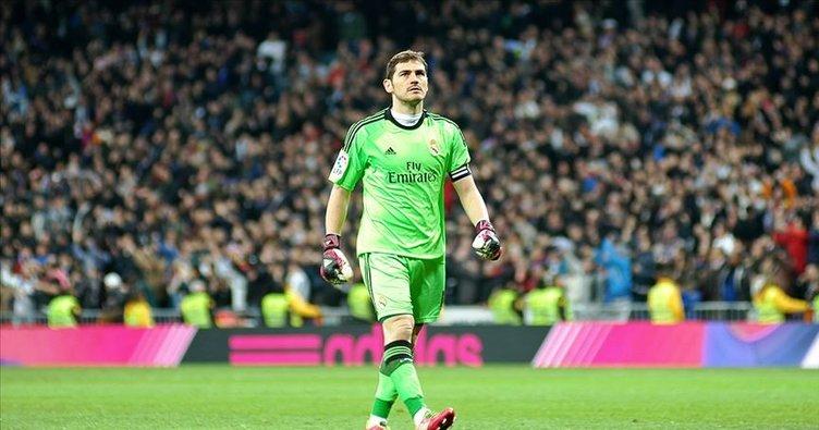 Efsane kaleci Casillas futbola veda etti
