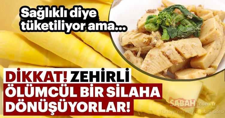 Dikkat! Çiğ tüketilen bu besinler ölümcül olabiliyor... Sağlıklı diye tüketilen zehirli besinler şaşırtıyor!