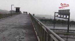 İstanbul'da kar yağışı yeniden başladı | Video