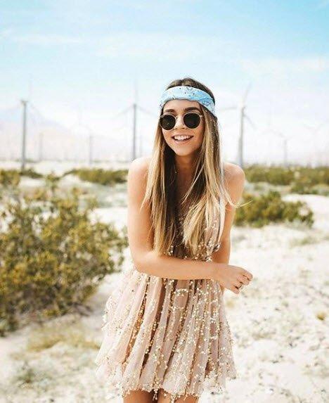 Festival modası...Dünyaca ünlü Coachella Festivali'nden ilham alın!