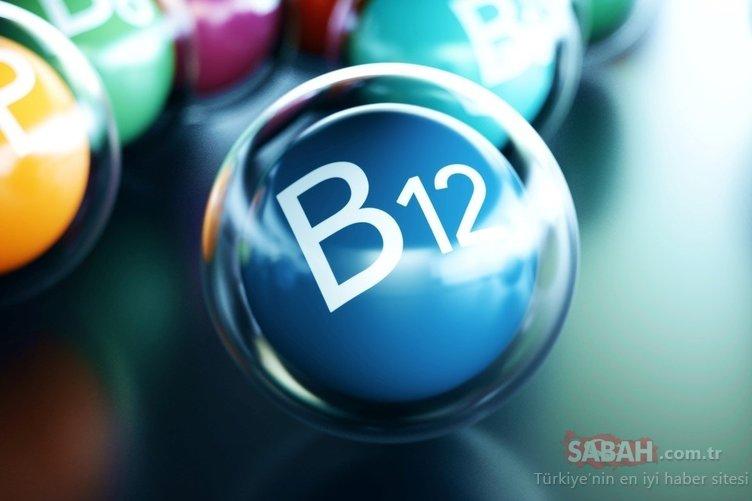 B12 vitamini eksikliğinin çaresi...