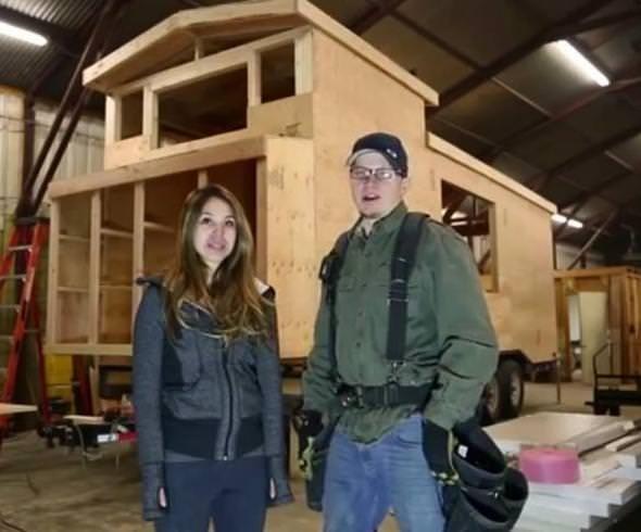 Kulübenin içini lüks bir ev yaptı!