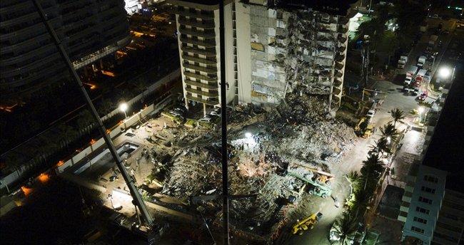 Florida'da çöken binada can kaybı 94'e yükseldi