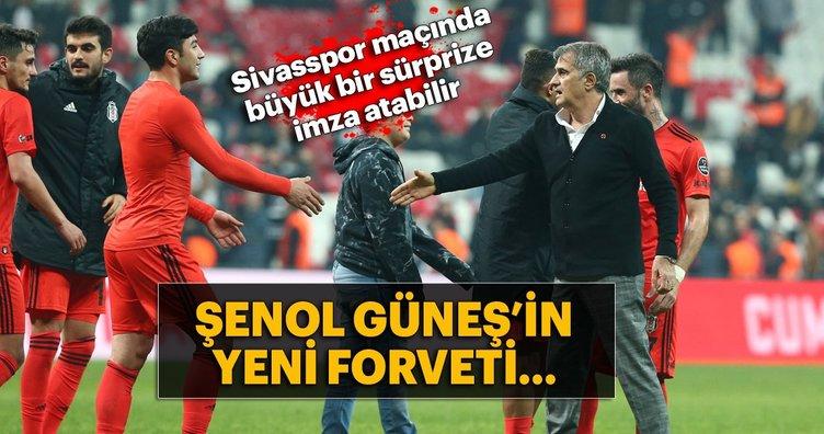 Şenol Güneş'ten Sivasspor maçında sürpriz isimler