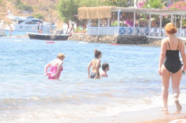 Kumsal güzeli Gamze