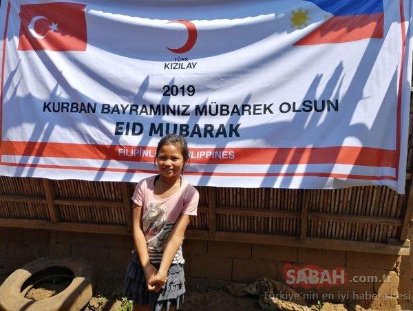 Türk Kızılayı onları unutmadı