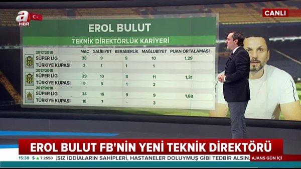 Fenerbahçe'nin yeni teknik direktörü Erol Bulut kimdir? Erol Bulut hangi takımları çalıştırdı? İşte, oynadığı takımlar... | Video