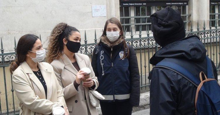 Kadın turistten polise küstah tepki: Kapa çeneni...