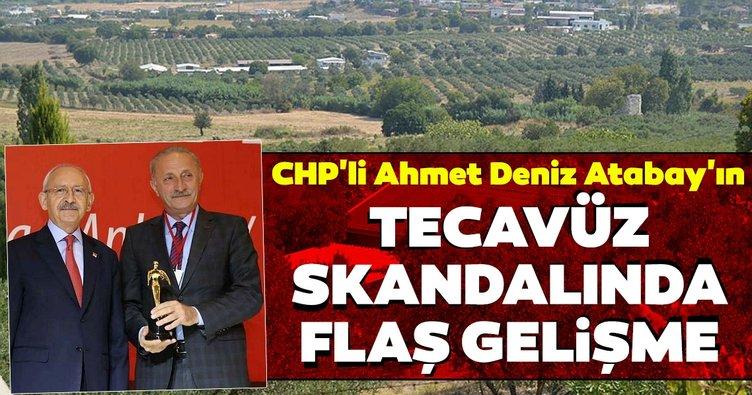 Didim'de CHP'li Ahmet Deniz Atabay'ın tecavüz skandalında flaş gelişme