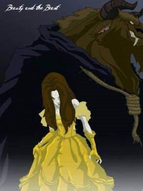 Çizgi karakterlerin 'gotik' versiyonları