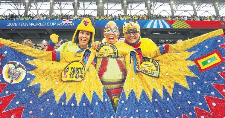 Dünya Kupası çılgın taraftarlarla çok daha renkli