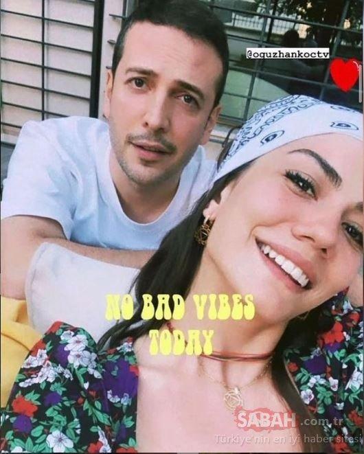 Ünlü oyuncu Demet Özdemir önce minisi ile poz verdi sonra pembe mayosu ile... Bu ne güzellik Demet!