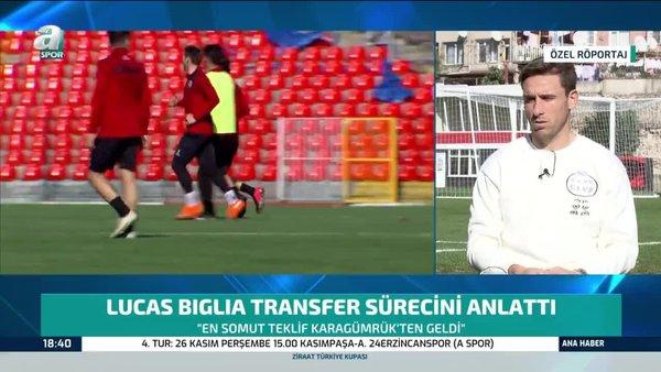 Karagümrüklü Lucas Biglia'dan Galatasaray ve Fenerbahçe sözleri!