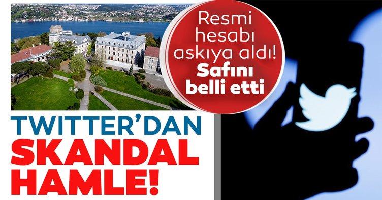 Skandal hamle! Twitter Boğaziçi Üniversitesi Rektörlüğü'ne ait hesabı askıya aldı