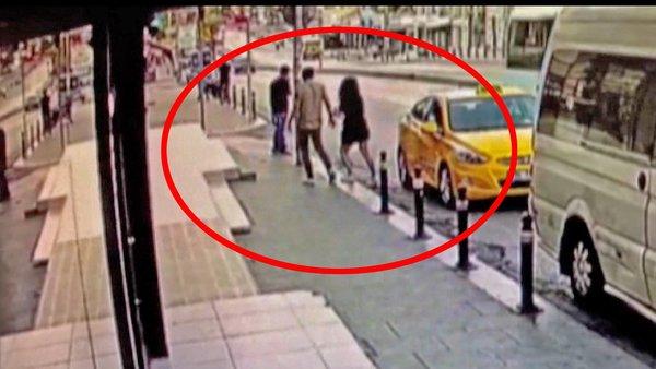 Son Dakika Haberi | İstanbul'da sokak ortasında iğrenç olay! Genç kadına tecavüz etmeye çalışan sapık kamerada | Video