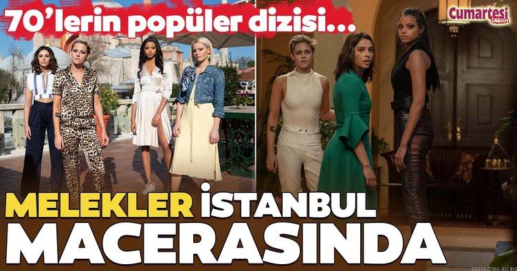 Melekler İstanbul macerasında