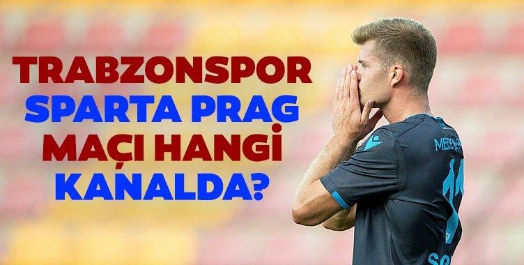 Trabzonspor Sparta Prag CANLI | Trabzonspor Sparta Prag maçı hangi kanalda saat kaçta?