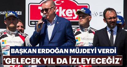 Başkan Erdoğan: Gelecek yıl da bu yarışı izleyeceğiz