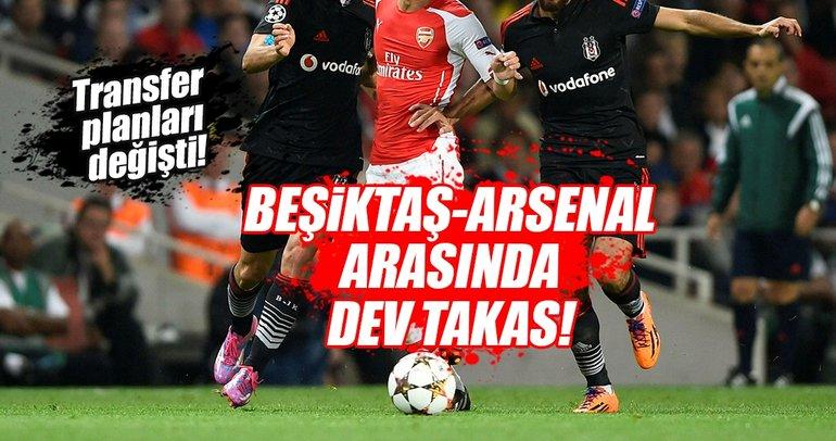 Beşiktaş ve Arsenal arasında dev takas iddiası!