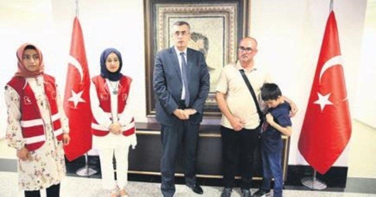 Türkiye, Ezidi çocuğu ailesine kavuşturdu