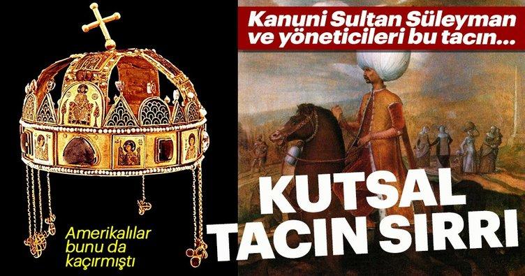 Sultan Süleyman'ın Elinden Kutsal Taç