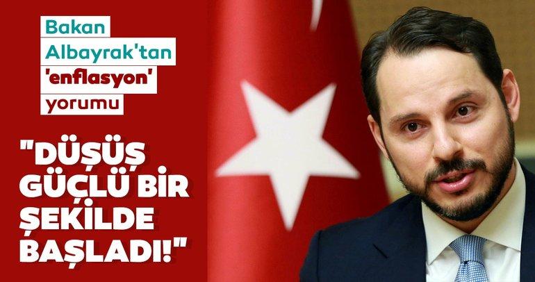 Son dakika: Bakan Albayrak'tan 'enflasyon' yorumu! Düşüş güçlü bir şekilde başladı!