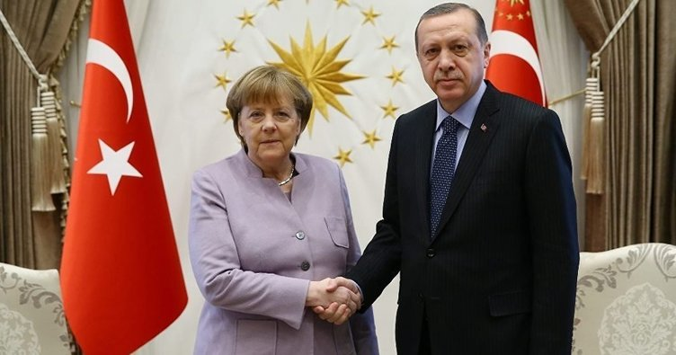 Erdoğan-Merkel görüşmesinin saati belli oldu