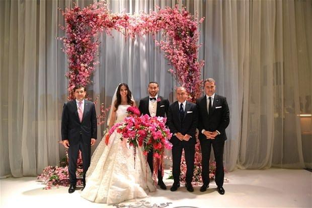 Cenk Tosun'un nikahından özel kareler
