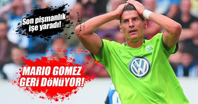 ...Ve anlaşma tamam! Mario Gomez geri dönüyor!