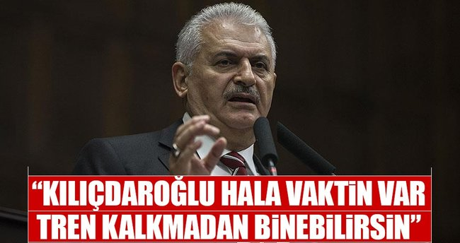 Başbakan Binali Yıldırım: Kılıçdaroğlu, hala vaktin var
