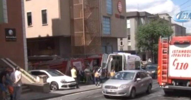 Son Dakika Haber: İstanbul Bağcılar'da iş yerinde patlama: 3 yaralı