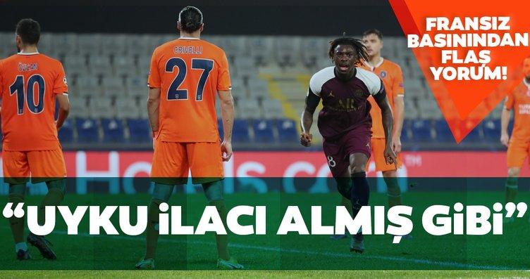 Fransız basınından flaş Başakşehir-PSG yorumu!...