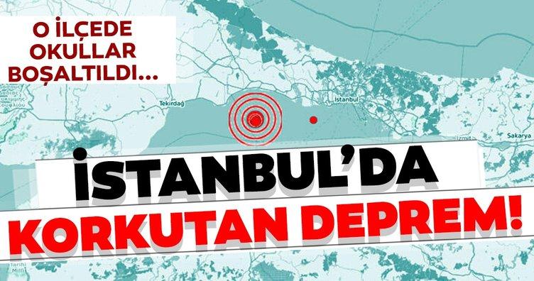Son Dakika: İstanbul'da deprem oldu! Depremin şiddeti 4.7 olarak açıklandı; İstanbul Silivri sularında...