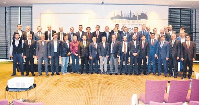 Ankara ekonomisine platform çözümü