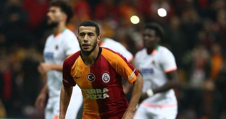 Belhanda Galatasaray yönetimiyle görüştü!