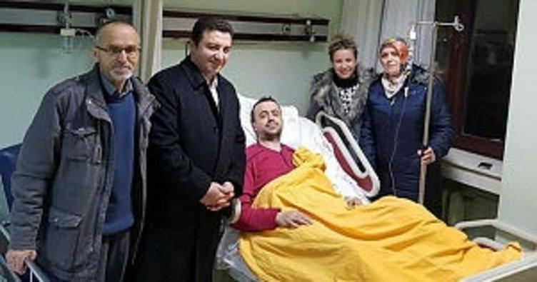 Başkan Bakıcı'dan hasta ziyaretleri