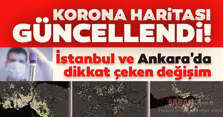 Son dakika: Corona virüs haritası güncellendi! İstanbul ve Ankara'da son durum...