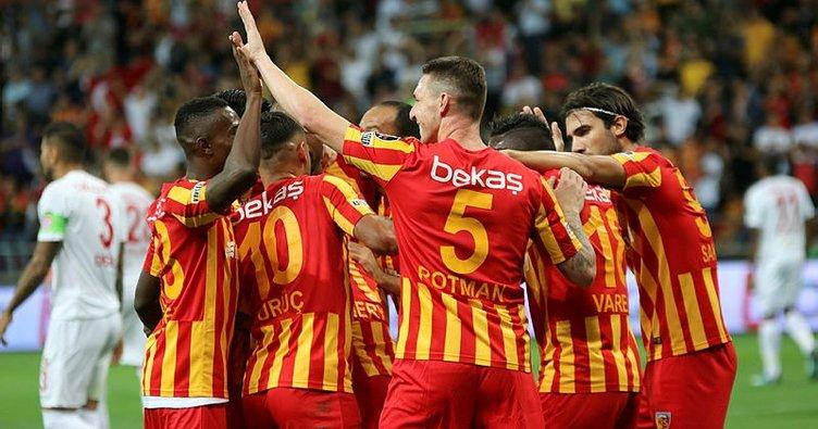 Kayserispor, Antalyaspor galibiyetiyle başladı