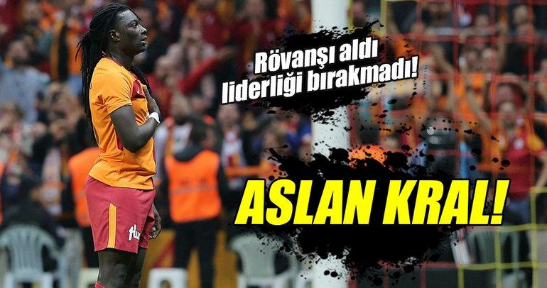 Galatasaray sahasında Trabzonspor'u mağlup etti