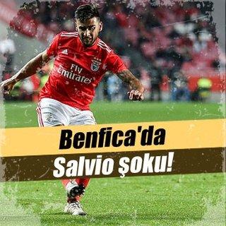 Benfica'da Salvio şoku!