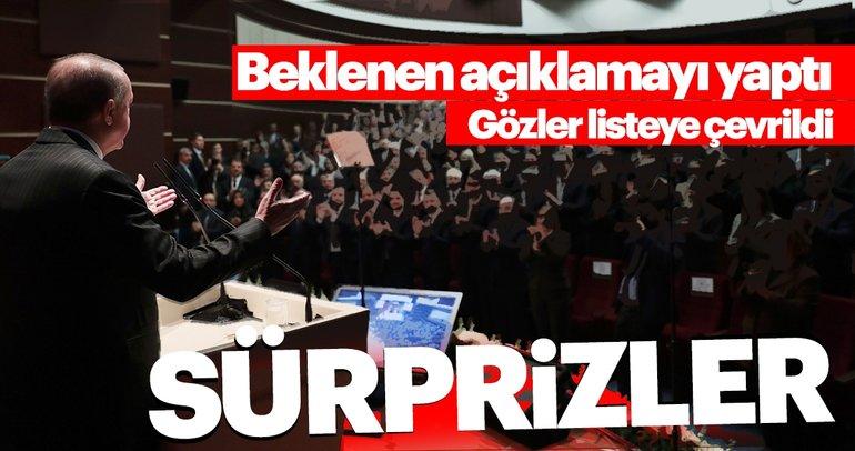 Son dakika haberi: Başkan Erdoğan belediye başkan adaylarını açıkladı! AK Parti'de 14 il belediye başkan adayları