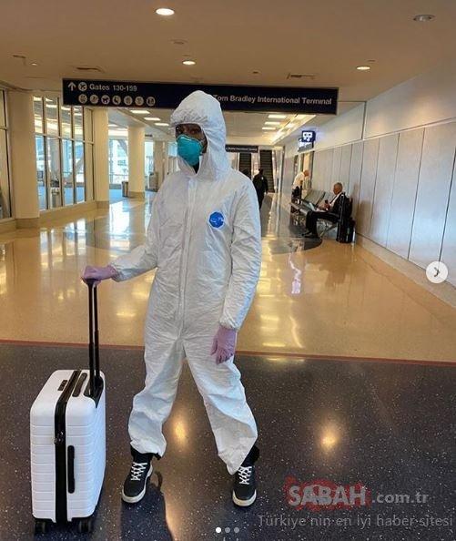 Koronavirüs ünlüleri de etkisi altına aldı! Tüm dünyayı kasıp kavuran Coronavirüs salgını için ünlü isimler böyle önlem aldı!